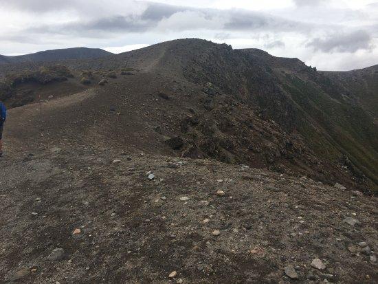 Whakapapa, New Zealand: up to the ridge