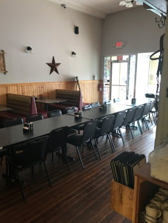 Mount Gilead, OH: second dining room now empty