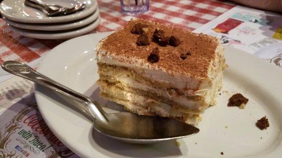 Heavy Tiramisu Picture Of Buca Di Beppo Italian Restaurant Washington Dc Tripadvisor