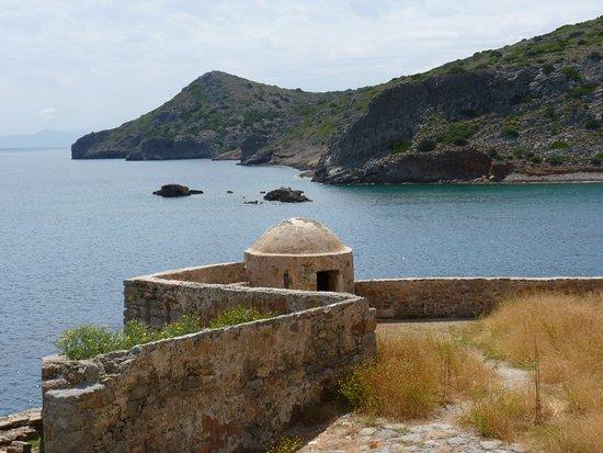 เอเลาน์ดา, กรีซ: Un angle de la citadelle