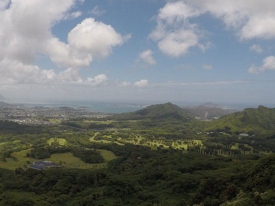Hauula, HI: View from Pali Lookout