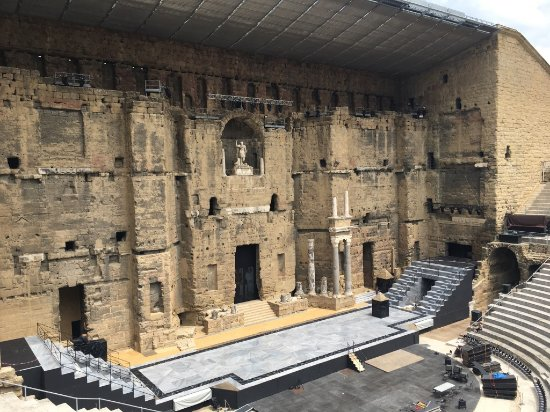 ออเรนจ์, ฝรั่งเศส: L'intérieur du théâtre