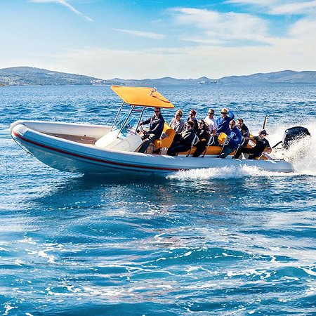 Milna, Croatia: Our speedboats - the fastest way to see Croatia's scenic Dalmatian islands.