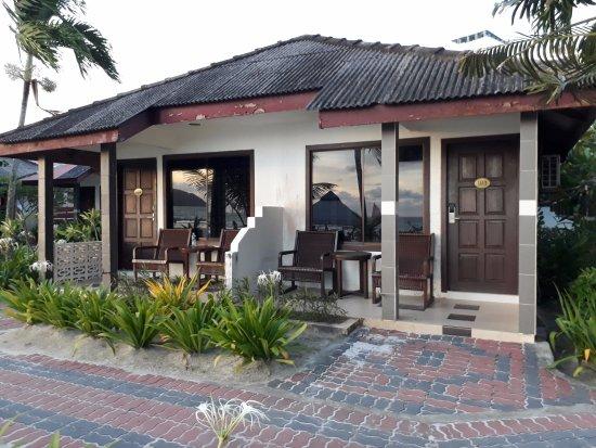 Langkapuri Inn: Standard Sea View room
