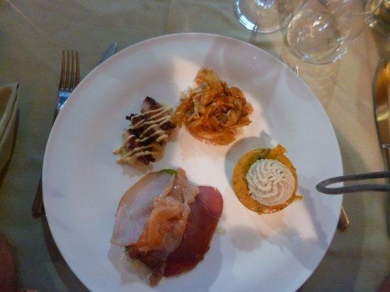 Gavorrano, Italia: antipasto di mare