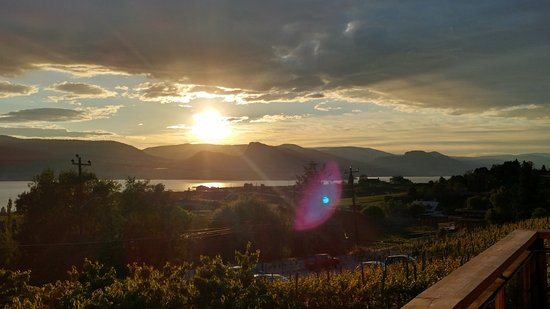 Penticton, Canada: View from upper deck