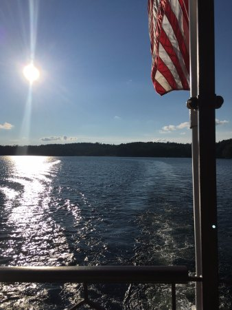 Sunapee, Нью-Гэмпшир: Just one of the many amazing views from the ship