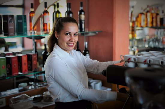 Hotel Amfora: Our staff is always smiling and are willing to help at any time!
