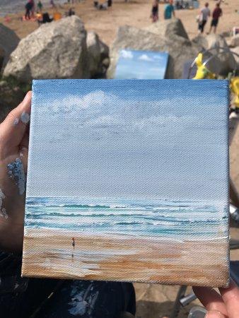 Newquay, UK: Art at the Beach