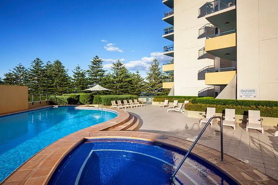 Brighton-le-Sands, Australien: Outdoor pool and spa