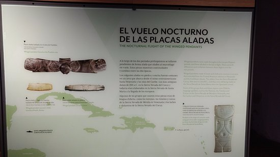 Santa Marta District, Kolombiya: Every item on display of has the same full-length information both in English and Spanish