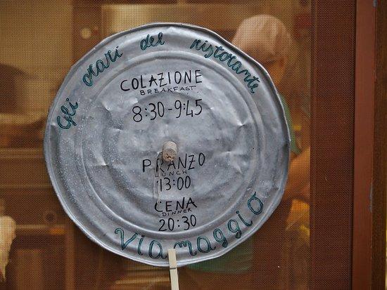 Murlo, Italia: Die Essenszeiten sind verhandelbar - nur der Beginn des Frühstücks nicht