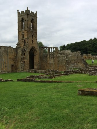 Northallerton, UK: The ruins