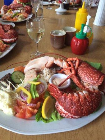 Бэнтри, Ирландия: dinner at Bank House, Whiddy Island