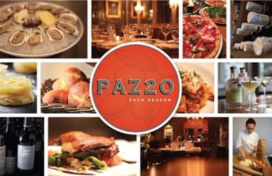 Pazzo Restaurant Stratford Ontario