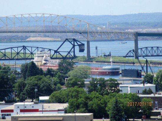 Sault Ste. Marie, มิชิแกน: international bridge