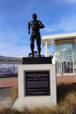 New Zealand Rugby Museum : Charles Munro