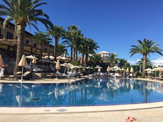 Swimming Pool Area Picture Of Castillo Hotel Son Vida A Luxury Collection Hotel Palma De