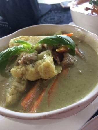 Palmerston North, New Zealand: Green curry