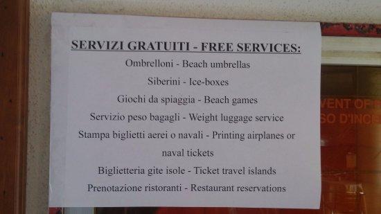 Meta Hotel : servizi gratis