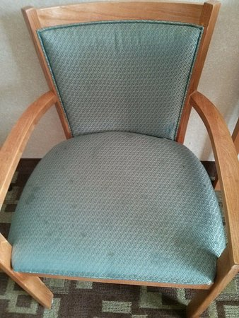 Quality Inn & Suites: Chair in the room and it was also broken.