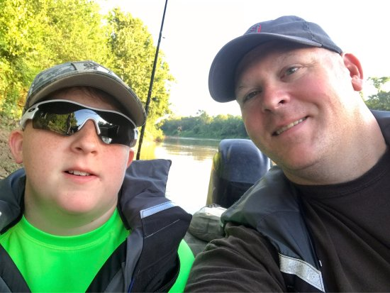 Texas Gar Fishing: Great trip July 12-14, 2017