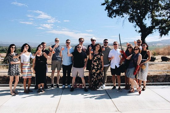 Verve Napa Valley: OFFICE OUTING FOR THE WIN!