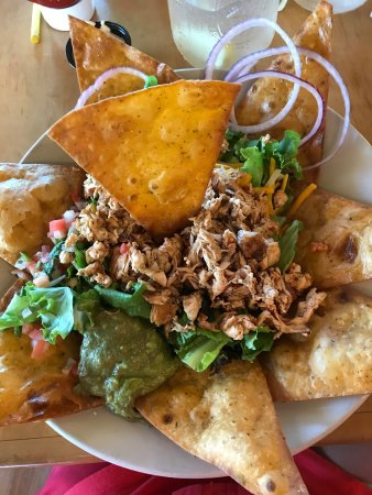 Bandera, TX: Taco Salad with Chicken - So Tasty!