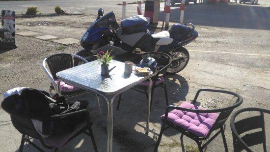 Corwen, UK: ideal stop for bikers