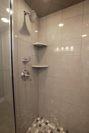 Homestead Suites : Cedar: Walk-in rain shower