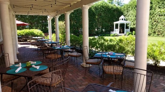 Exeter, Nueva Hampshire: Al Fresco Dining at it's Finest!