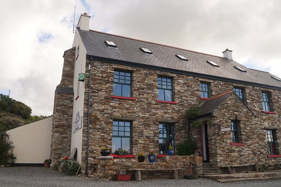 Dunfanaghy, Ireland: The main building, reception, B&B and communal area