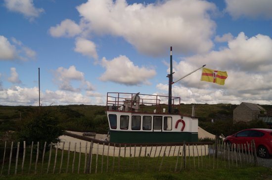 Dunfanaghy, Ireland: The glamping trawler