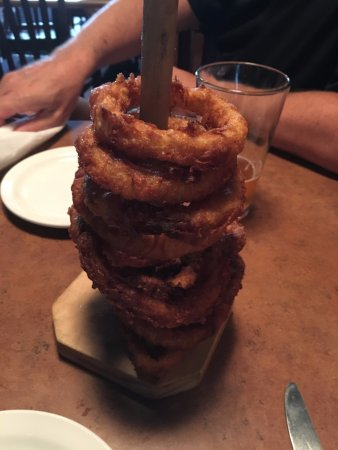Pinehurst, NC: Onion Rings....yes, as tasty as they look.