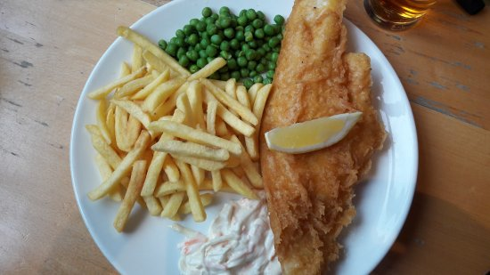 Lossiemouth, UK: Fish and Chips, 9.95 £