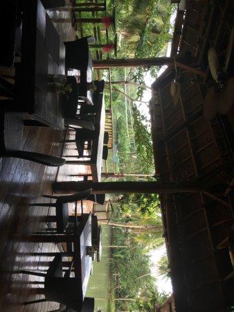 Loboc River Resort: In the restaurant