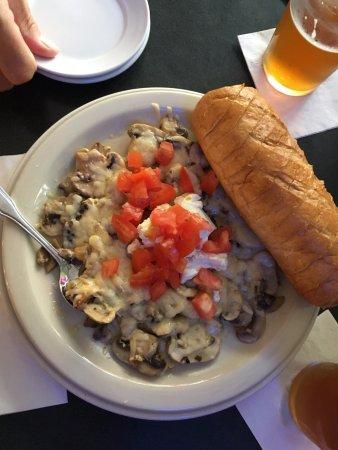 Pinehurst, Carolina del Norte: Mushroom Appetizer