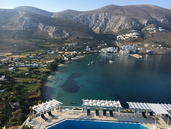 Aegialis Hotel & Spa: That view!