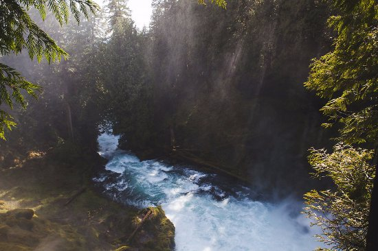 Sisters, Oregon: Sahalie Falls