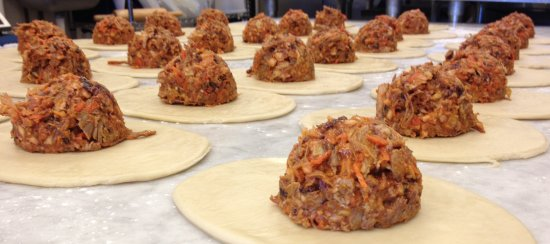 Vienna, VA: BBQ Pulled Pork Pasty - another PURE PASTY Fusion dish - So popular