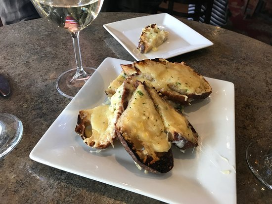 Grants Pass, OR: Yummy cheesy herb toast