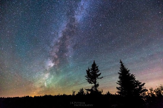Southwest Harbor, ME: Galactic Center from Cadillac Mountain