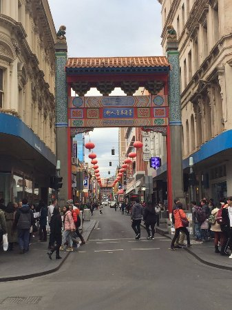 Mercure Welcome Melbourne: Chinatown gate