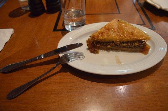 Athinaikon Restaurant: Dessert typique grec