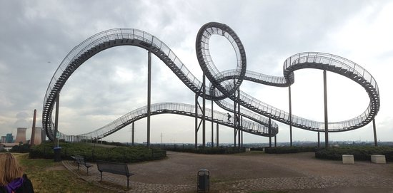 Tiger Turtle Magic Mountain Duisburg Germany Top