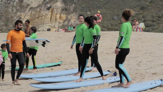 Nazare, Portugal: Group lesson