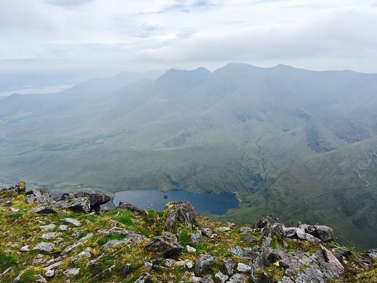 Beaufort, Irlanda: At the top!