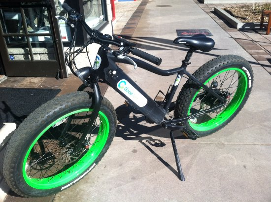 Littleton, CO: Our electric fat-tire rental.