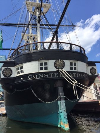 Baltimore Water Taxi: USS Constellation