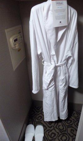 Brisbane, CA: Bathrobe, slippers in Hhonors Floors rooms